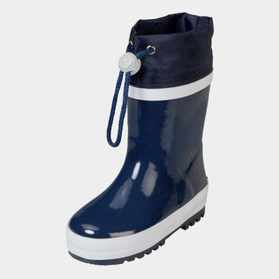Stivali in Gomma con Coulisse Navy | PLAYSHOES | RocketBaby.it