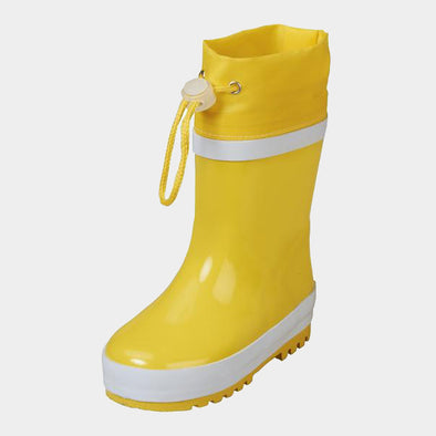 Stivali in Gomma con Coulisse Yellow | PLAYSHOES | RocketBaby.it