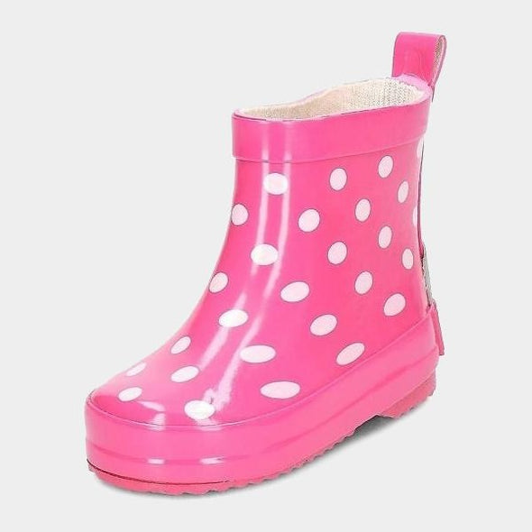 Stivali Bassi in Gomma Dots Pink | PLAYSHOES | RocketBaby.it