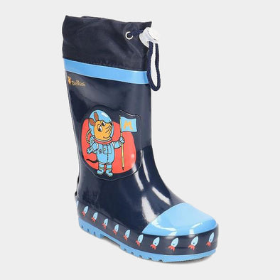 Stivali in Gomma con Coulisse Die Maus Outer Space | PLAYSHOES | RocketBaby.it