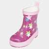 Stivali Bassi in Gomma Stars Pink | PLAYSHOES | RocketBaby.it