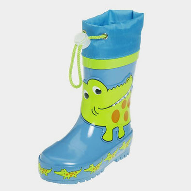 Stivali in Gomma con Coulisse Crocodile | PLAYSHOES | RocketBaby.it