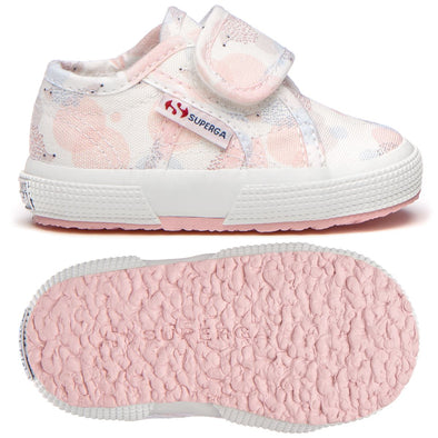 Sneakers Superga Baby con Strap Largo Hedgehog Pink | SUPERGA | RocketBaby.it