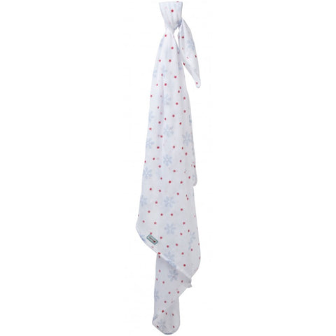 Swaddle in Mussola Snowflake | PICCALILLY | RocketBaby.it
