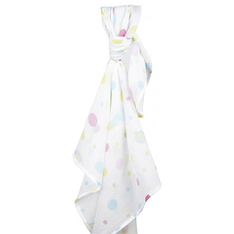 Swaddle in Mussola Pink Sealife | PICCALILLY | RocketBaby.it