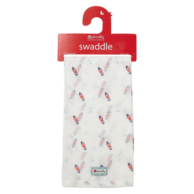 Swaddle in Mussola Rocket | PICCALILLY | RocketBaby.it