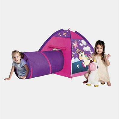 Tenda Gioco con Tunnel Unicorn