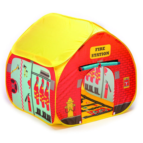 Tenda da Viaggio Stazione dei Pompieri Pop It Up | FUN2GIVE | RocketBaby.it