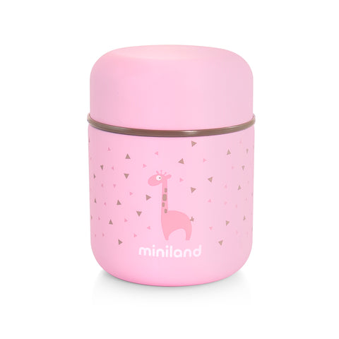 Thermos Portapappa 280 ml Silky Mini Rose | MINILAND | RocketBaby.it