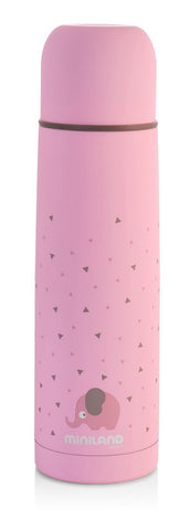 Thermos Portapappa e Bevande 500 ml Pink | MINILAND | RocketBaby.it