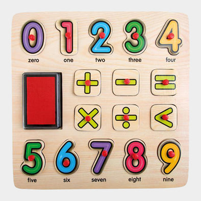 Set Puzzle e Timbrini Numeri | LEGLER | RocketBaby.it