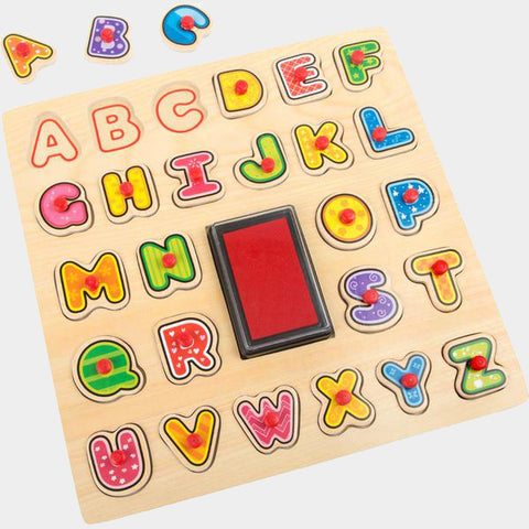 Set Puzzle e Timbrini Alfabeto | LEGLER | RocketBaby.it