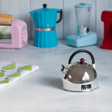 Timer da Cucina Silver Kettle | REX LONDON | RocketBaby.it