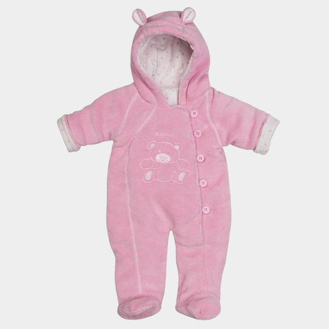 Tuta Imbottita in Pile Bear Lightpink | PLAYSHOES | RocketBaby.it
