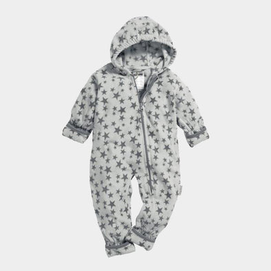 Tuta in Pile Stars Grey | PLAYSHOES | RocketBaby.it