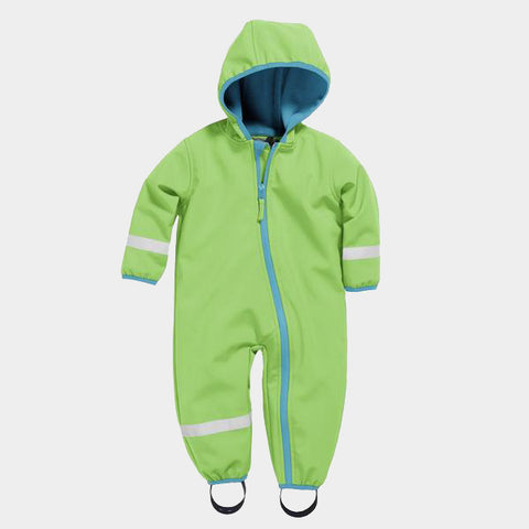 Tuta Impermeabile con Pile Green | PLAYSHOES | RocketBaby.it