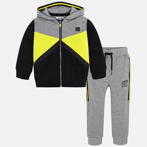 Tuta Felpa e Pantaloni Acid Yellow | MAYORAL | RocketBaby.it