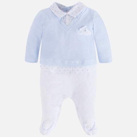 Tutina Elegante con Colletto Cielo | MAYORAL | RocketBaby.it