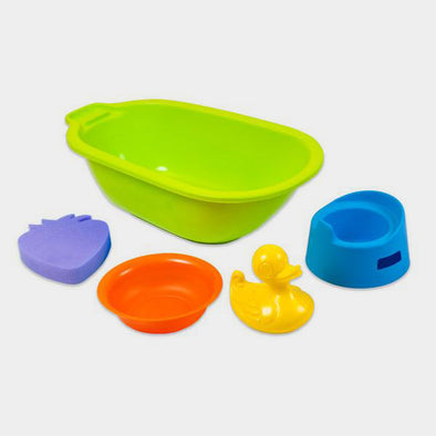 Set Vasca da Bagno e Accessori per Bambole | MINILAND | RocketBaby.it