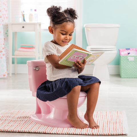 Wc Vasino Sonoro Per Bambino My Size Potty Pink | SUMMER INFANT | RocketBaby.it