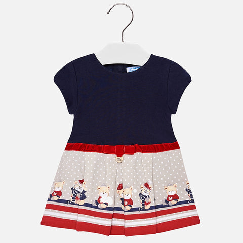 Vestito con Orsetti Blu Navy | MAYORAL | RocketBaby.it
