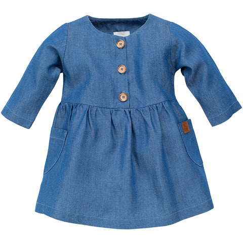 Vestito Happy Llama Blue | PINOKIO | RocketBaby.it