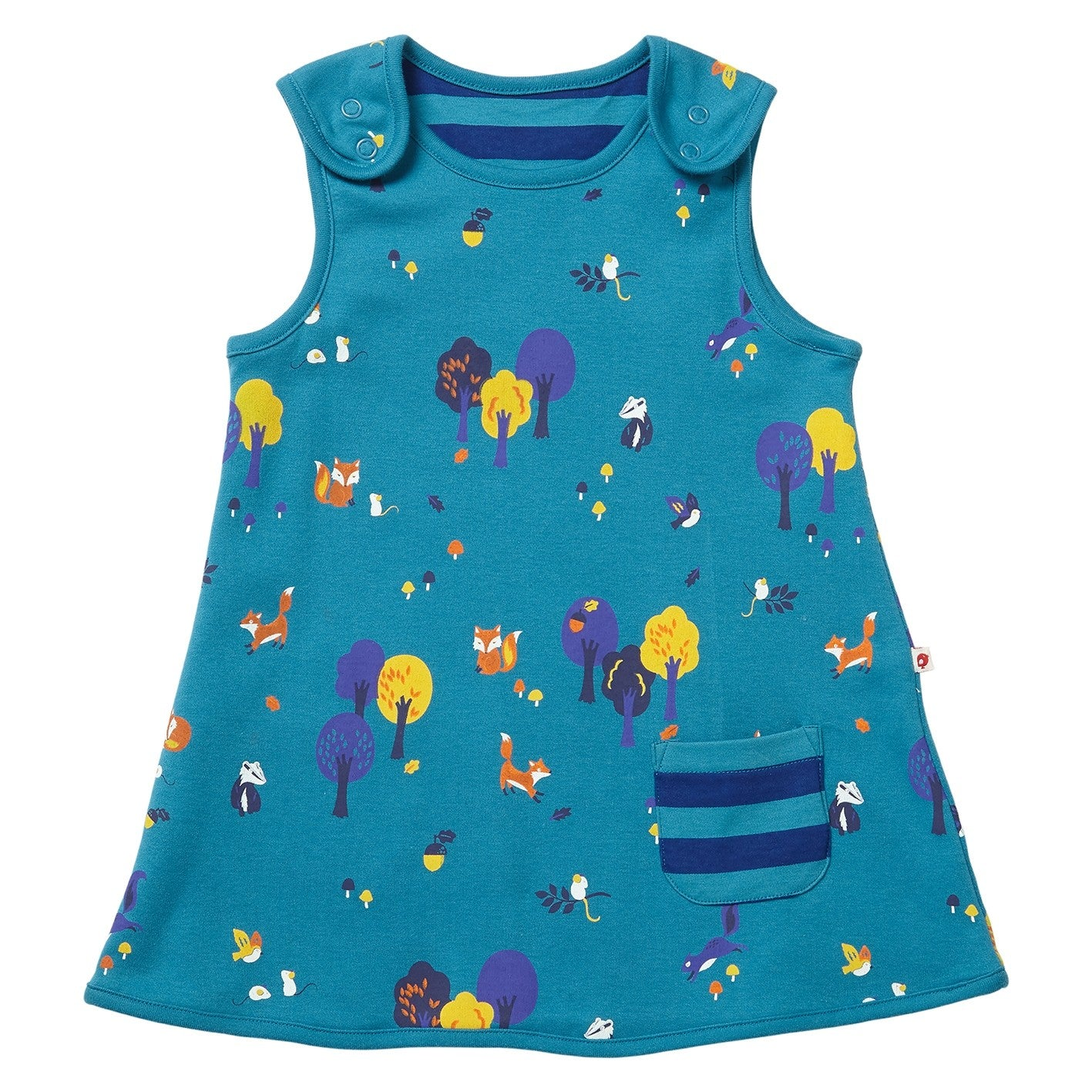 2d9cfbcd674e Vestito Reversibile Woodland | PICCALILLY | RocketBaby.it