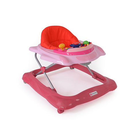 Girello Baby Walker Rosa | MIKY | RocketBaby.it