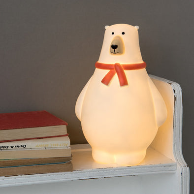 Lucina Notturna LED Bob the Polar Bear | REX LONDON | RocketBaby.it