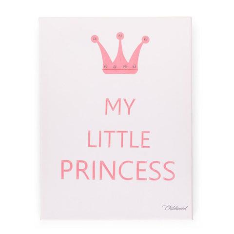 Dipinto ad olio My little Princess | CHILDHOME | RocketBaby.it