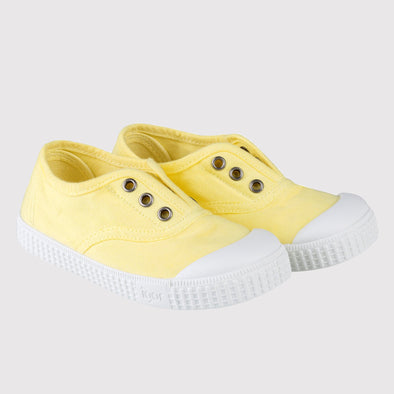 Scarpe in Tela Berri Giallo | IGOR SHOES | RocketBaby.it