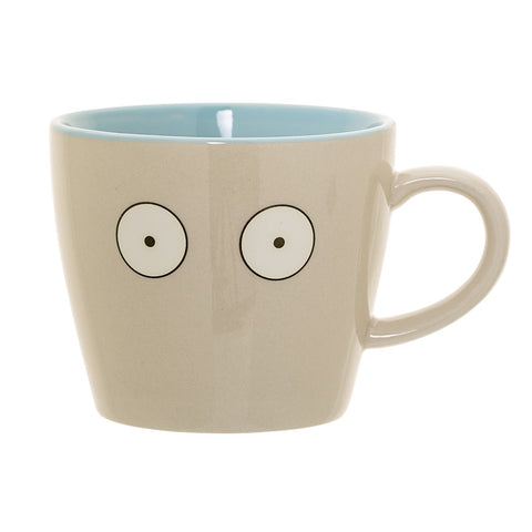 Mug in Gres Occhi Tortora e Blu | BLOOMINGVILLE | RocketBaby.it