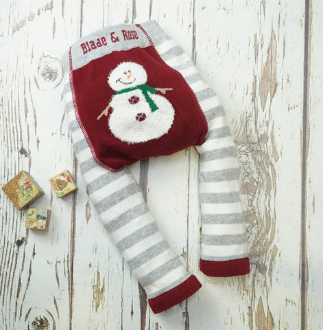 Leggings Fluffy Snowman | BLADE&ROSE | RocketBaby.it