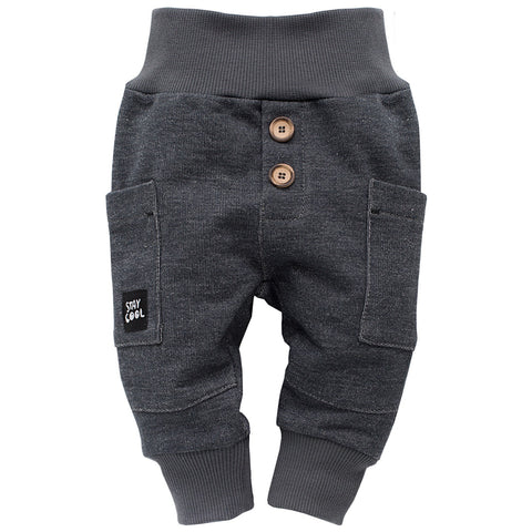 Pantaloni Funny Dog Grigio Scuro | PINOKIO | RocketBaby.it