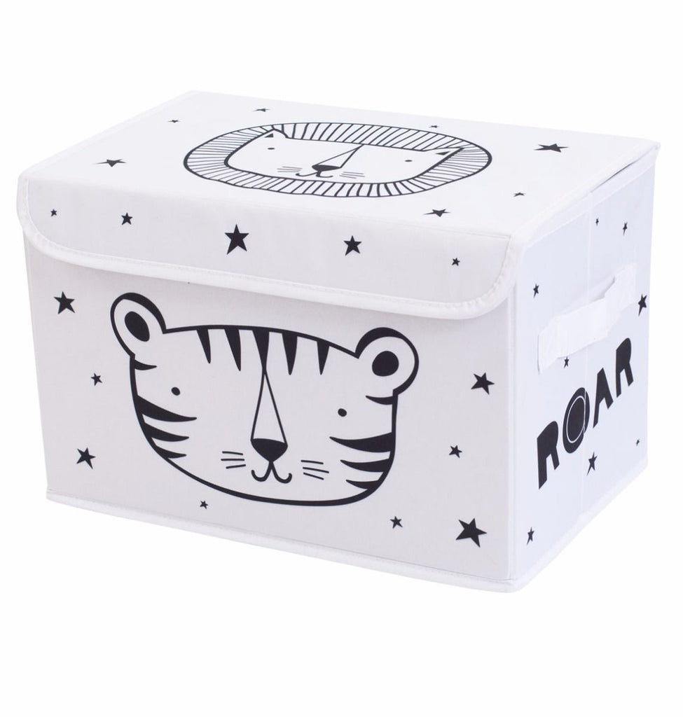 Box Contenitore Roar | A LITTLE LOVELY COMPANY | RocketBaby.it