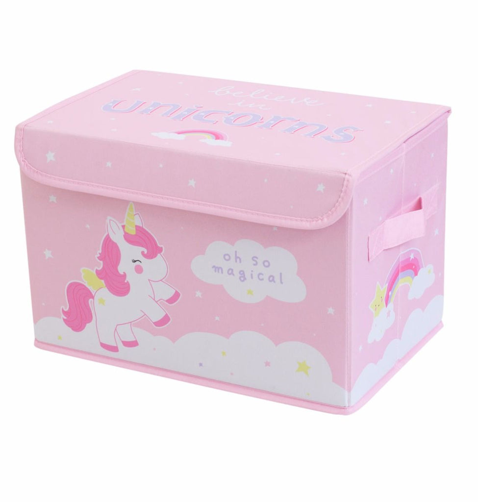 Box Contenitore Unicorn | A LITTLE LOVELY COMPANY | RocketBaby.it
