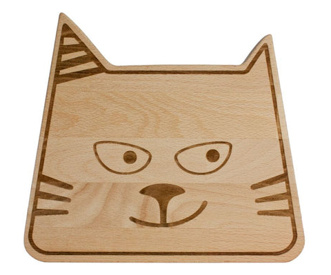 Tagliere Double Face Gatto - RocketBaby - 1