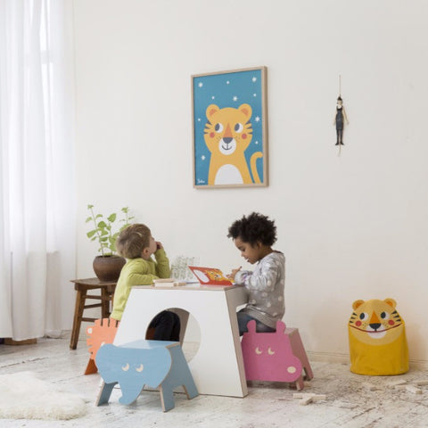 Tavolo e Casetta Table And Play House | JULICA | RocketBaby.it