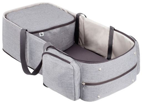 Lettino da Viaggio e Borsa Fasciatoio 2 in 1 Smokey | BABYMOOV | RocketBaby.it