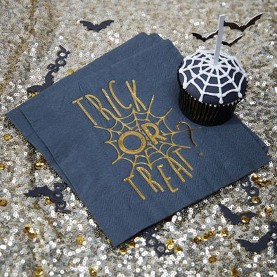 20 Tovaglioli di Carta Trick or Treat | GINGER RAY | RocketBaby.it