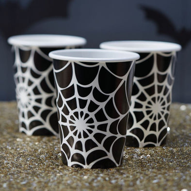 8 Bicchieri di Carta Trick or Treat | GINGER RAY | RocketBaby.it