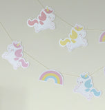 Ghirlanda Decorativa Unicorno - RocketBaby - 2