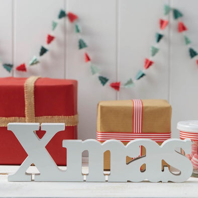 Decorazione in Legno White Xmas | GINGER RAY | RocketBaby.it