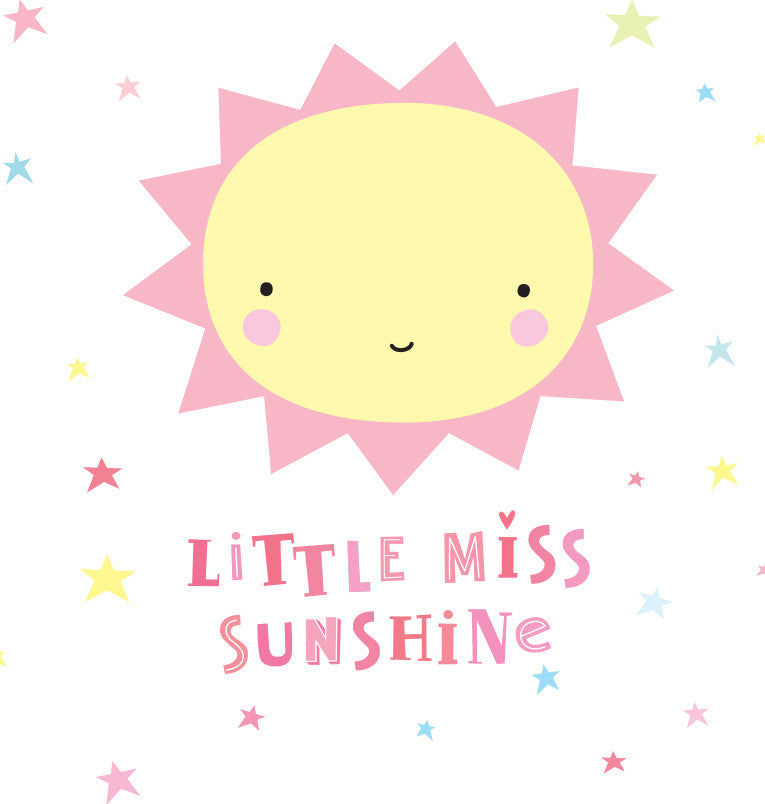 Stickers da Muro Miss Sunshine | A LITTLE LOVELY COMPANY | RocketBaby.it