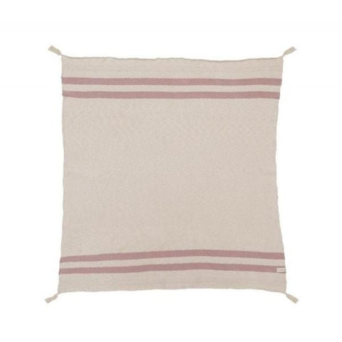 Coperta Stripes Natural | LORENA CANALS | RocketBaby.it