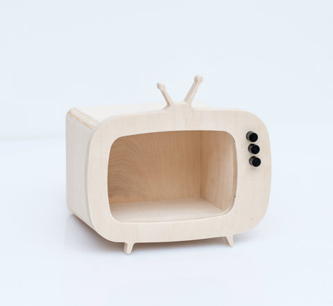 Box TV  Legno - RocketBaby - 1