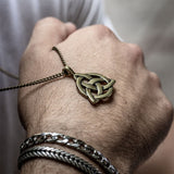Irish Trinity Necklace