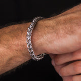 Silver Rope Chain Bracelet