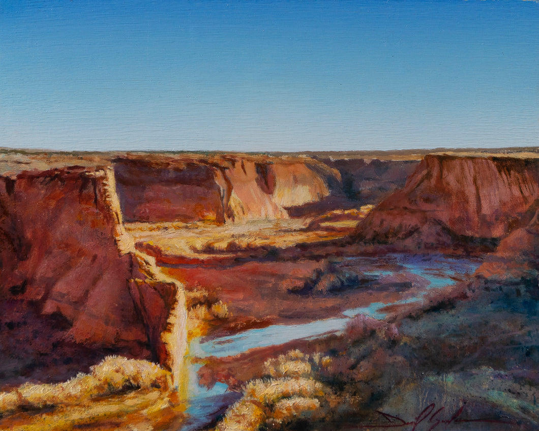 Canyon De Chelly-Tesi Overlook