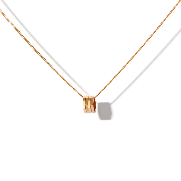Antifer pendant in pink gold